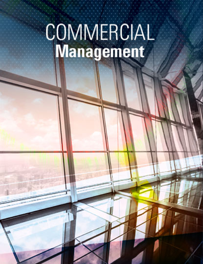commercial management This is the first book to establish a theoretical framework for commercial management it argues that managing the contractual and commercial issues of projects - from project inception to completion - is vital in linking operations at the project level and the multiple projects (portfolios/ programmes) level to the corporate core of a company.